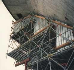 München, Olympiaturm – Postkorbhöhe 167 m